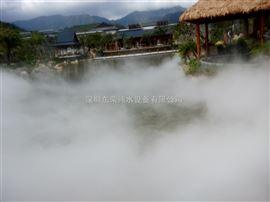 人工湖人造雾工程