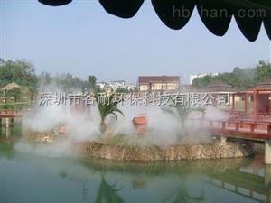 佛山人工湖泊喷雾造景工程人造景产品要闻