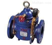 600X型電動流量控製閥-水利控製閥
