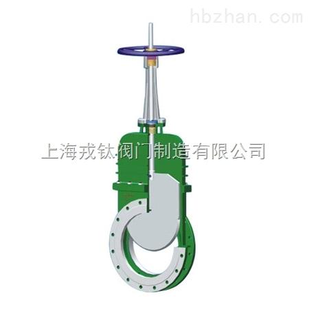 上海带盖式浆闸阀