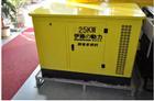 25千瓦多燃料静音汽油发电机