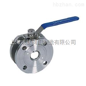 Q71F对夹式球阀/Q671F气动对夹式球阀/Q971F电动对夹式球阀