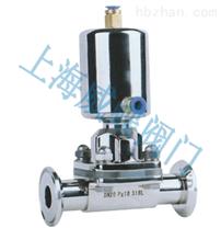 衛生級氣動隔膜閥,上海不鏽鋼隔膜閥