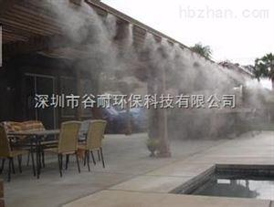 商业步行街喷雾降温工程