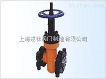 GPZ83Y油田专用高压平板闸阀