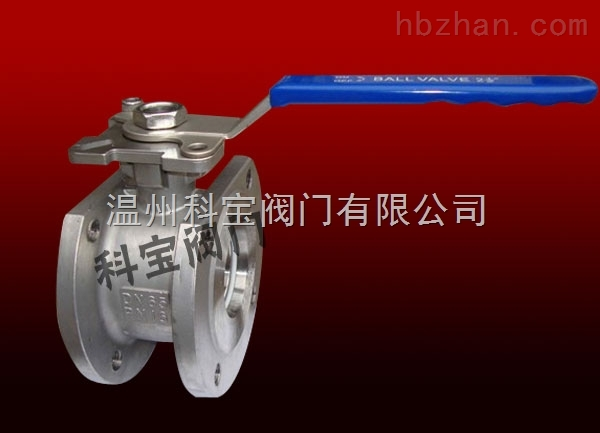 1/2寸-4寸 CF8M PN16 不锈钢高平台对夹球阀