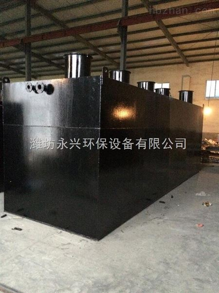 供应广西南宁碳钢防腐地埋式一体化污水处理设备,