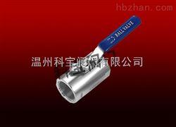 Q11F-16广式内螺纹球阀选型