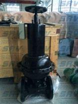 EG6K41F(無襯裏)、EG6K41Fs(襯氟塑料)氣動隔膜閥(常開型)