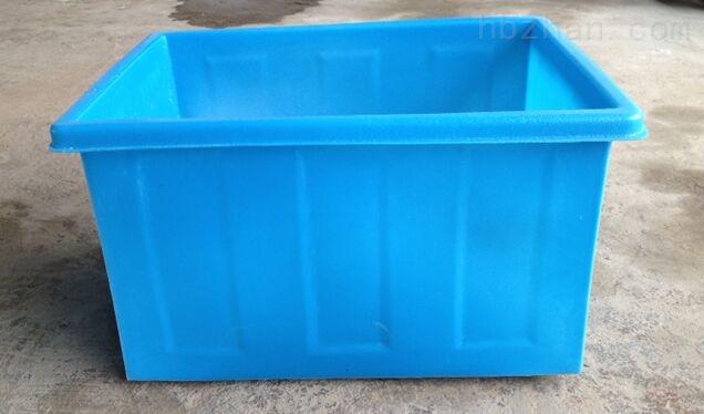 蓝色方桶塑料桶
