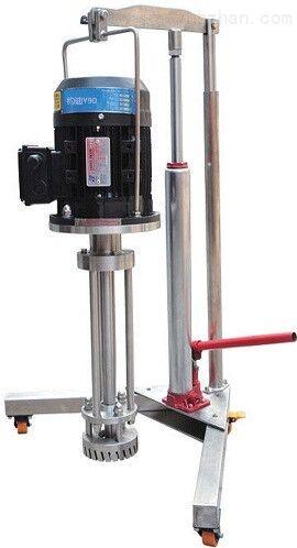升降中式型高剪切乳化機