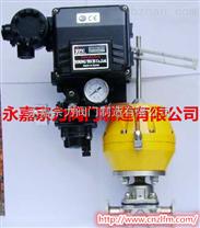 G681調節型氣動快裝隔膜閥