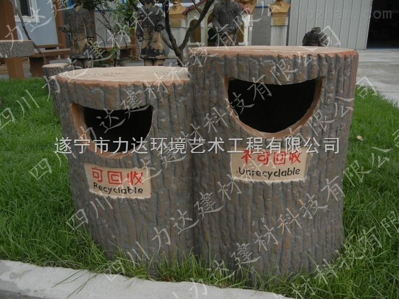 产品库 园林景观  园林景观与园林小品 垃圾桶 仿木垃圾桶  更新时间