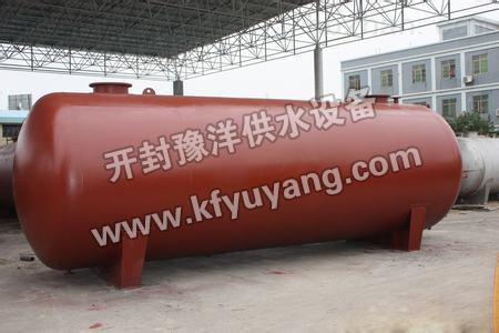 压力罐-卧式压力罐 无塔供水设备-开封豫洋供水设备