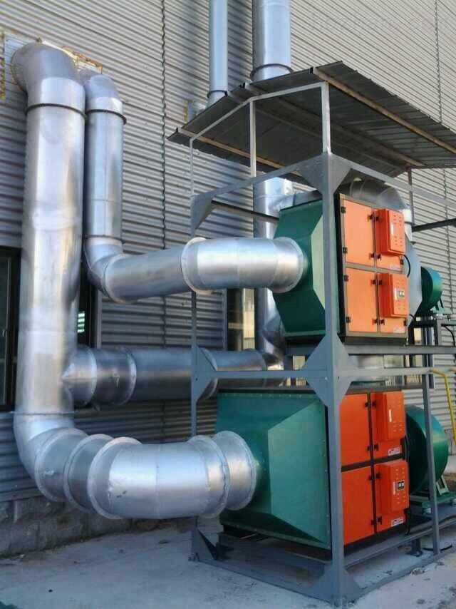 PVC橡胶厂油烟净化器