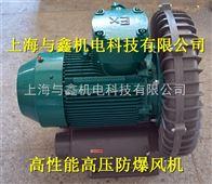 化工机械专用-环形高压防爆风机-防爆电机