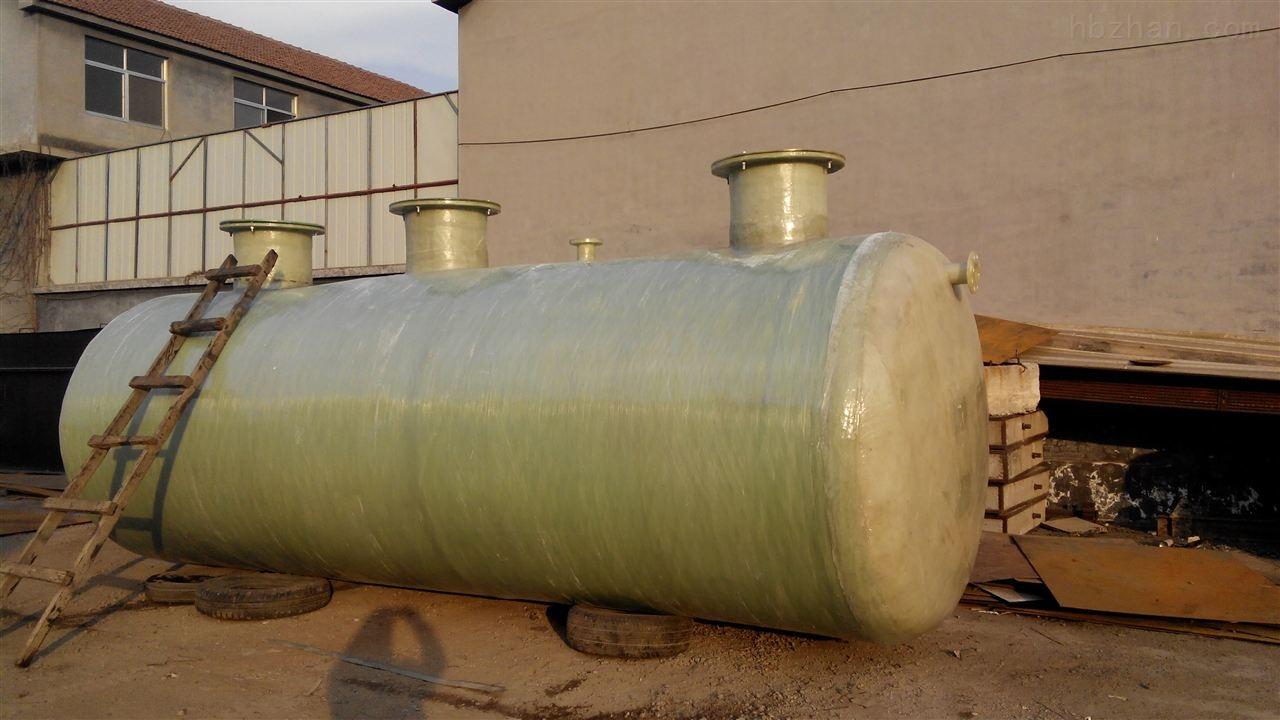 玻璃钢地埋式污水处理设备供应图片