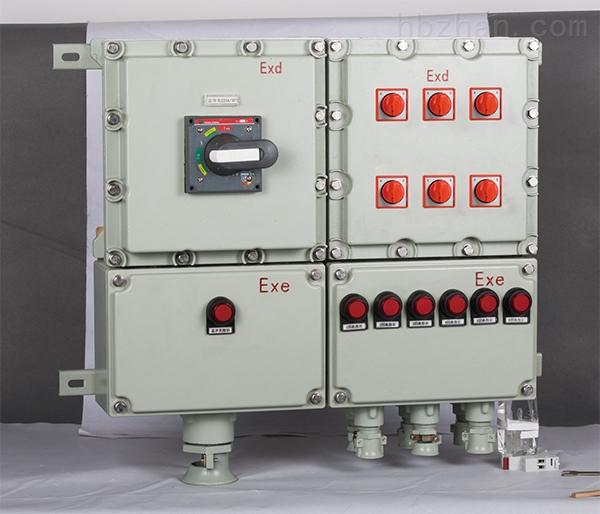 上海bxd防爆动力配电箱制造面板