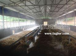 武漢家禽市場智能環保噴霧降溫消毒設備/專業噴霧降溫工程技術