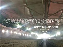 重慶家禽市場智能環保噴霧降溫消毒設備/專業噴霧降溫工程技術