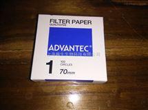 ADVANTEC 1号定性滤纸QUALITATIVE FILTER PAPERS