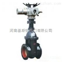 河南Z945T/Z945W-10電動暗杆楔式單閘板閘閥