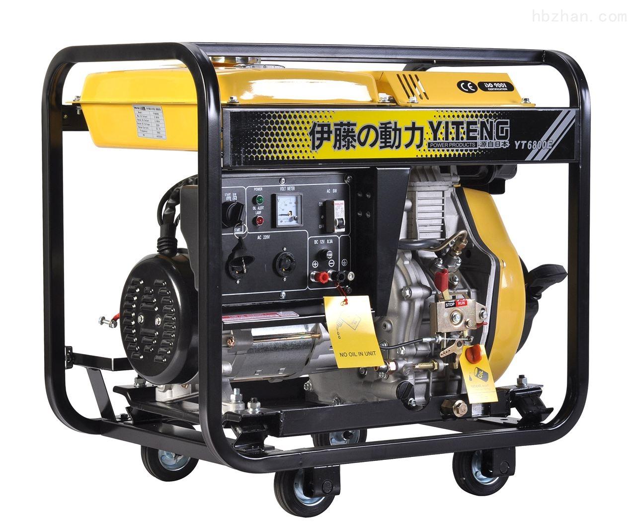 YT3800E柴油发电机组