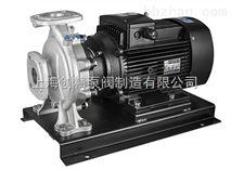 SGRW-S型臥式不銹鋼冷熱水管道增壓泵