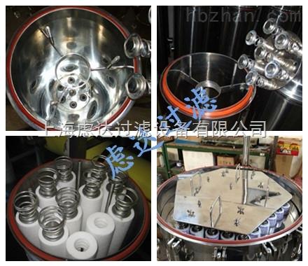 上海虑达过滤直销折叠滤芯式过滤器