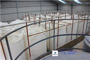 5吨次氯酸钠消毒液储罐 5T化学漂白剂储存桶 PE塑料防腐贮罐批发