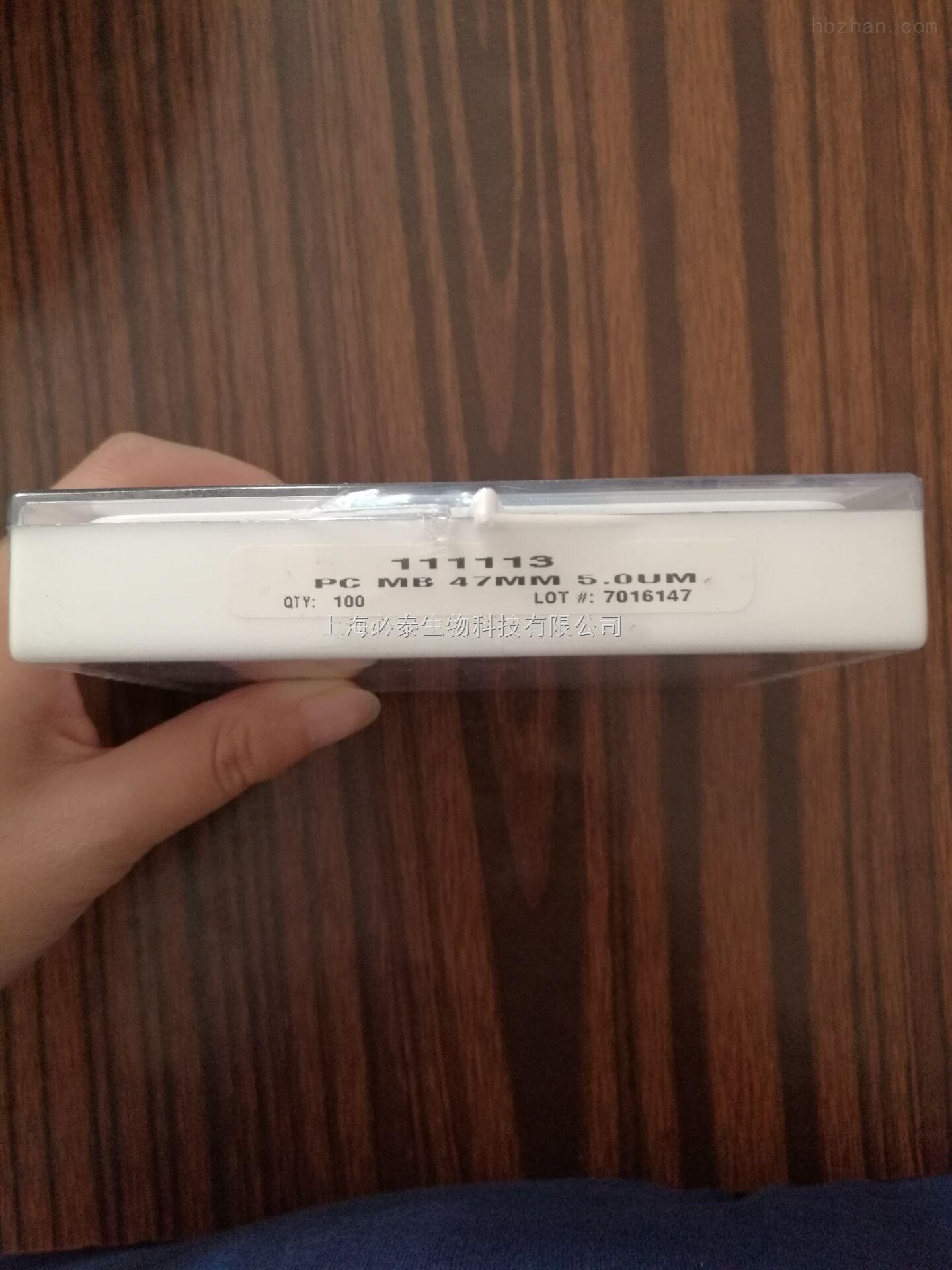 GE/whatman径迹蚀刻膜聚碳酸酯膜PC膜111113直径47mm孔径5um