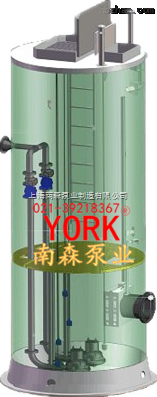 抗浮一体化预制泵站