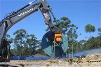 玉柴挖掘机液压岩石锯20T石锯销售