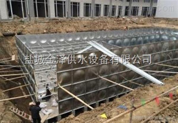 山东东营BDF地埋式箱泵一体化消防泵站