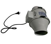 鸿冠圆形管道风机HF-100P 卫生间排气风扇厨房强力抽风机