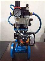 ES641J带定位器气动隔膜阀