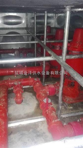 苏州太仓地埋式箱泵一体化消火栓及喷淋设备