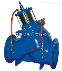 多功能水泵控制阀原理