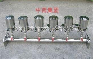 四联全不锈钢溶液过滤器 型号:M197398库号:M197398