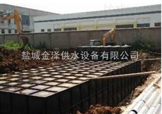 六安地埋箱泵增压泵站复合不锈钢水箱