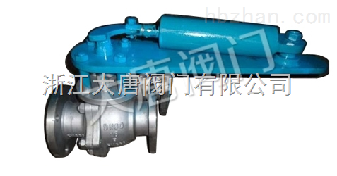 液动陶瓷球阀Q741TC-大唐阀门