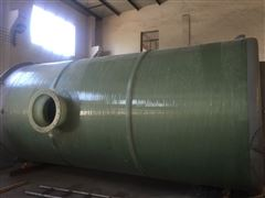污水一体化提升泵站3500立方
