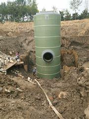玻璃钢一体化污水提升泵站项目案例