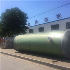 广州地埋式一体化泵站3500立方