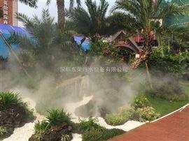 旅游景区景观造雾