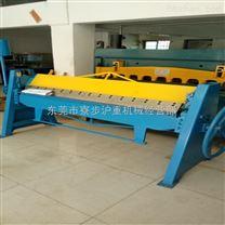 東莞廠家直銷1米5    2米手動折邊機  折彎機