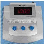 中西(LQS)台式电导仪(配K=1光亮电极) 型号:XB89/DDS-307库号:M318740