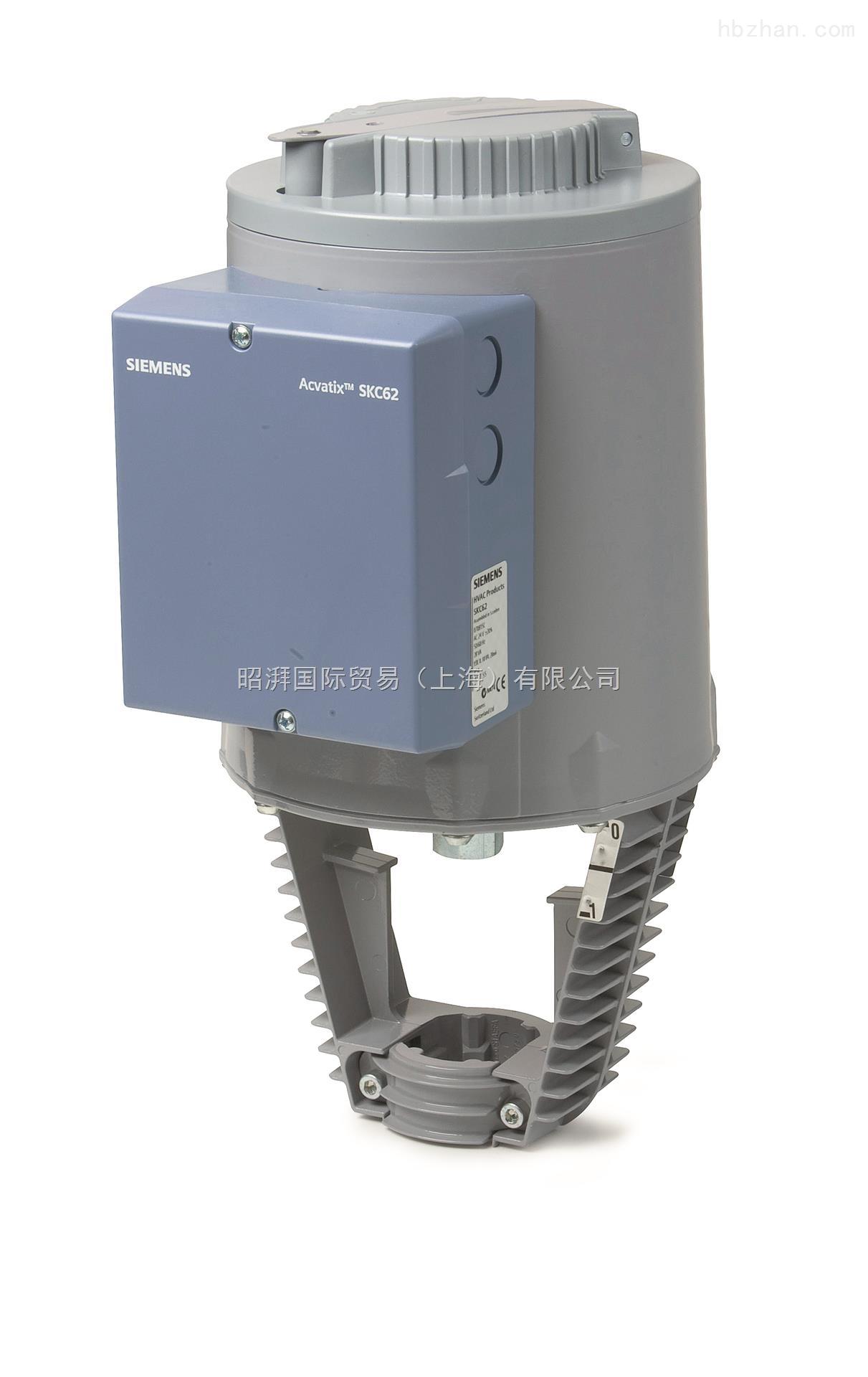 西门子电动阀门执行器SKC32.60