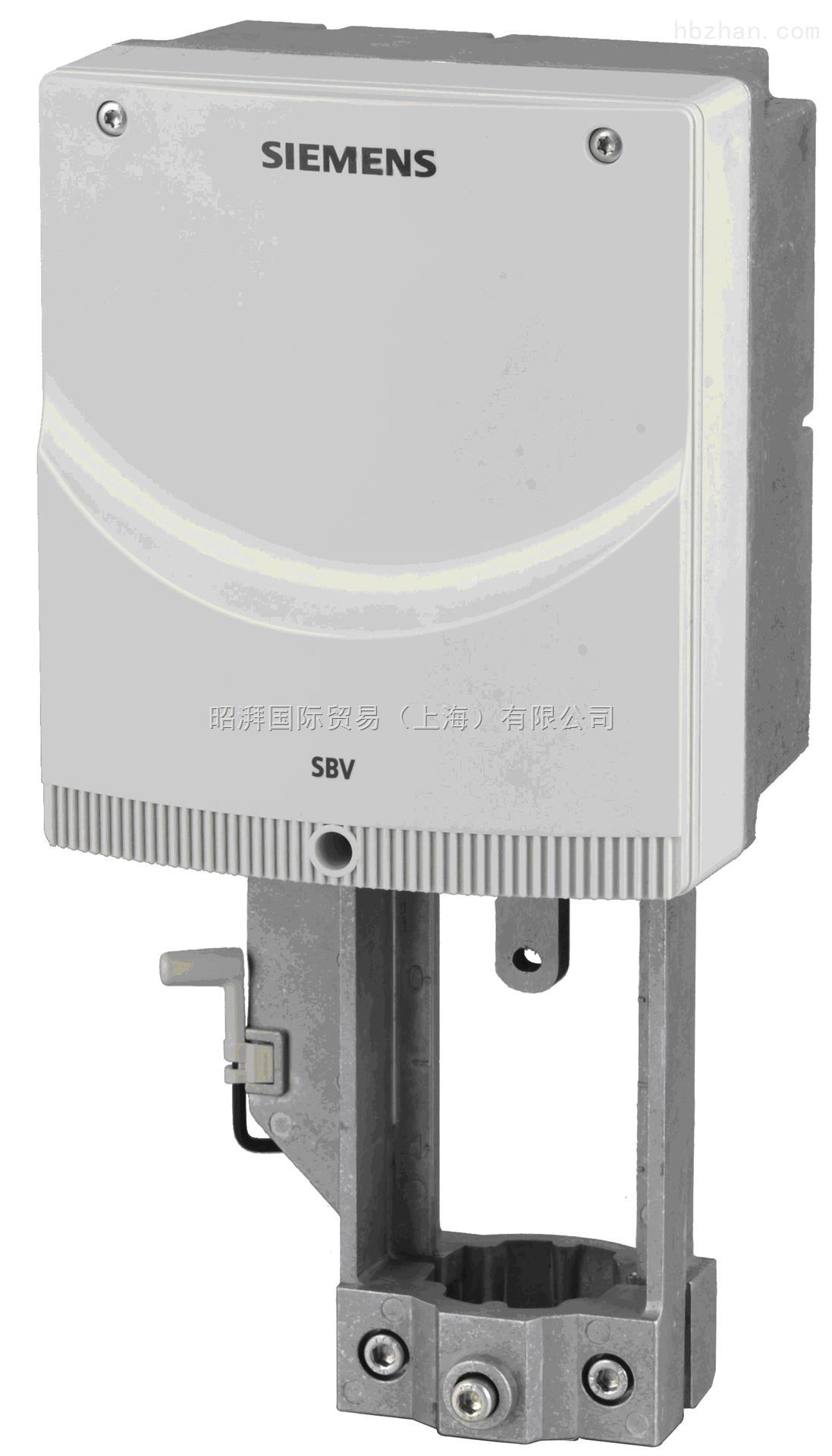 西门子电动执行器机械式执行器SBV81