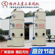 三禾高效低噪環保耐用玻璃鋼廢氣處理噴淋塔